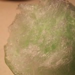 サントリー天然水かき氷サーバーで作ったかき氷+青梅
