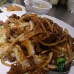 牛肉のせ炒飯