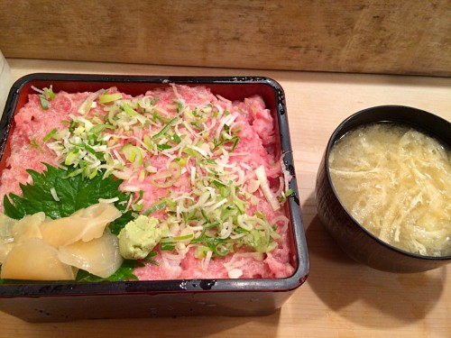 トロ丼(ねぎのせ)