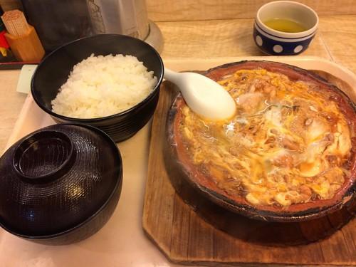 親子鍋定食