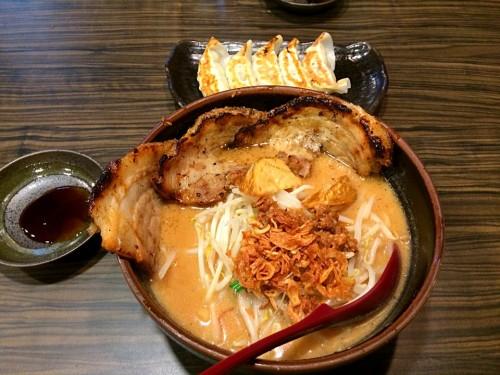 北海道味噌 味噌漬け炙りチャーシュー麺