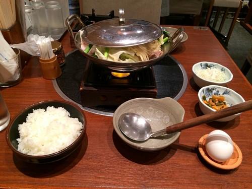 もつ鍋定食(ダブル)