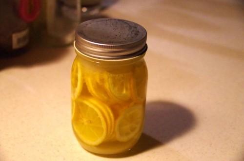 レモンの砂糖漬け2