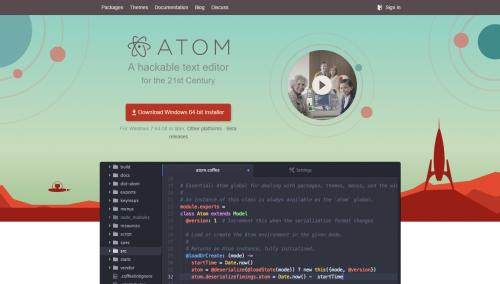 テキストエディタ Atom 導入メモ